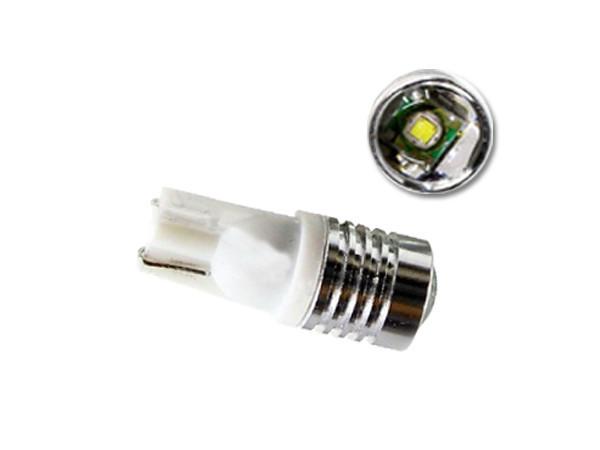 Автомобильные светодиодные лампы AutoApp. Светодиодная лампа повышенной мощности 442 T10 1 led 5W Cree