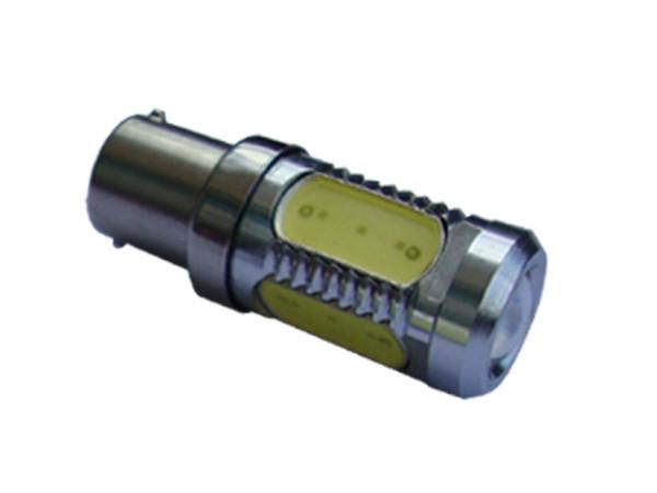 Автомобильные светодиодные лампы AutoApp. Светодиодная лампа 453 S25 High power 11W with lens