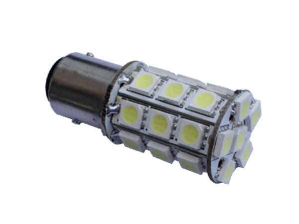 Автомобильные светодиодные лампы AutoApp. Светодиодная лампа 455 S25 27leds 5050SMD
