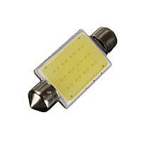 Автомобильные светодиодные лампы AutoApp Светодиодная лампа повышенной мощности 468 Festoon-COB-12SMD 41mm, фото 1