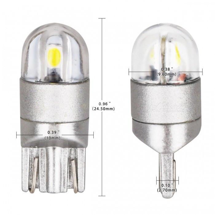 Автомобільні світлодіодні лампи AutoApp. Світлодіодна лампа підвищеної потужності 481 T10 2SMD/200LM 1W 6000K