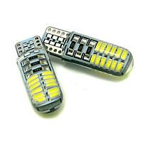 Автомобильные светодиодные лампы AutoApp. Светодиодная лампа повышенной мощности 478 T10 27SMD/200LM 6000K