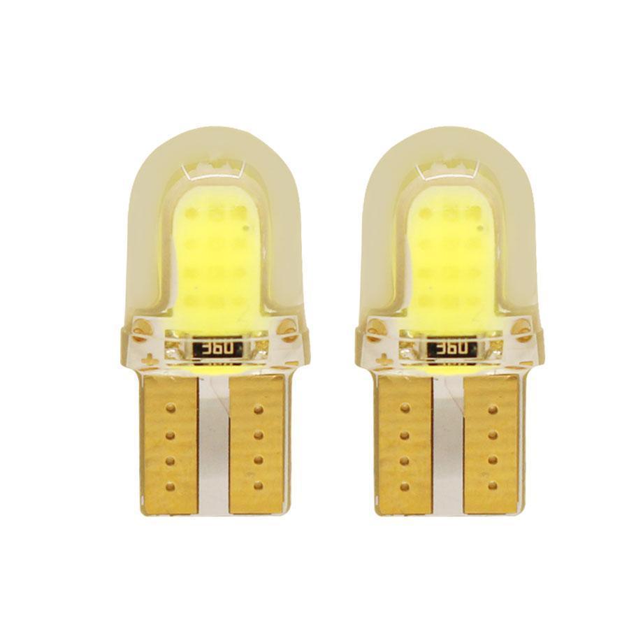 Автомобильные светодиодные лампы AutoApp. Светодиодная лампа повышенной мощности 484 T10 COB 12 led Silicon