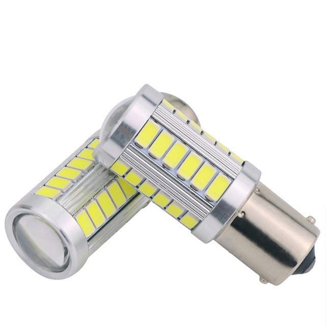 Автомобильные светодиодные лампы AutoApp. Светодиодная лампа 475 P21W BA15s 33SMD