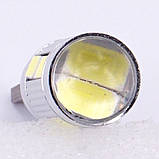 Автомобильные светодиодные лампы AutoApp. Светодиодная лампа повышенной мощности 487 T10  10SMD/300LM 1,5W 6000K, фото 6