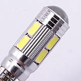 Автомобильные светодиодные лампы AutoApp. Светодиодная лампа повышенной мощности 487 T10  10SMD/300LM 1,5W 6000K, фото 7