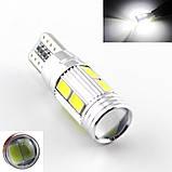 Автомобильные светодиодные лампы AutoApp. Светодиодная лампа повышенной мощности 487 T10  10SMD/300LM 1,5W 6000K, фото 9