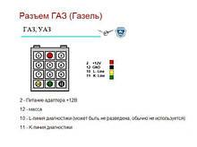 Переходник OBD для ГАЗ  12pin качественный
