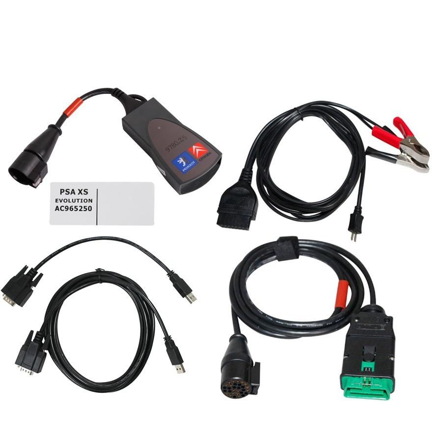 Диагностический сканер Lexia 3 PP2000 Full V8.55 для Citroen Peugeot RUS ПОЛНЫЙ ЧИП!