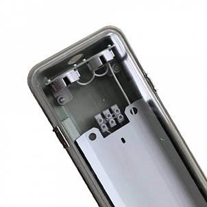 Светильник промышленный ЕВРОСВЕТ LED-SH-45 LENS Т8 2x1200мм IP65 с пластиной (000040623), фото 2
