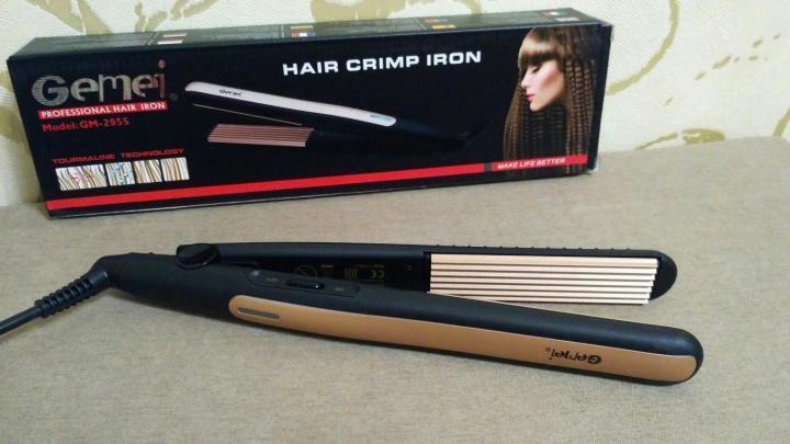 Утюжок для выпрямления волос Gemei Gm 2995