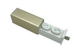Бездротові навушники з зарядним футляром Mavens KS-TP95 TWS золоті Bluetooth 5.0