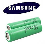 Батарея аккумулятор Samsung18650 4.2V 2000 mA/h