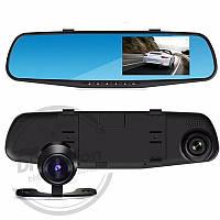 "Зеркало видеорегистратор с двумя камерами 138W 4,3"""