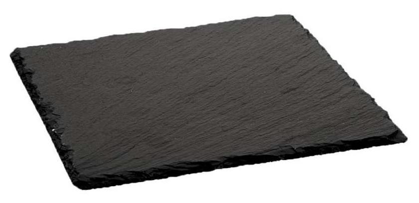 Тарелка / блюдо (сланец) из натурального камня - 20 х 20 см (Stalgast)