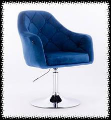 Перукарські, косметичні крісла на базі,тканина