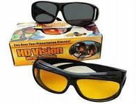 Антибликовые очки для водителя HD Vision WrapArounds 2 в 1 День + Ночь, фото 1