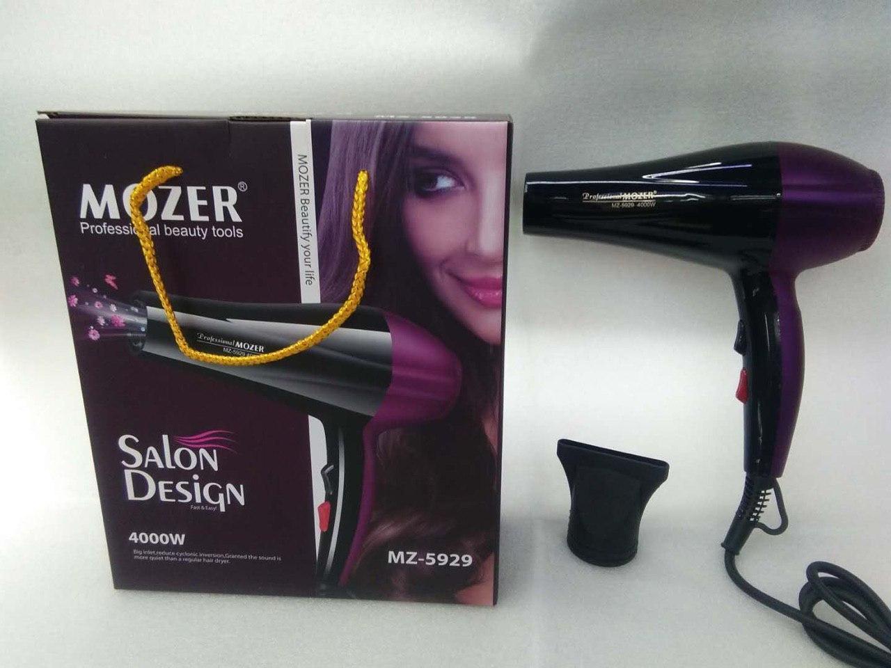 Компактный фен для волос Mozer MZ-5929 4000Вт