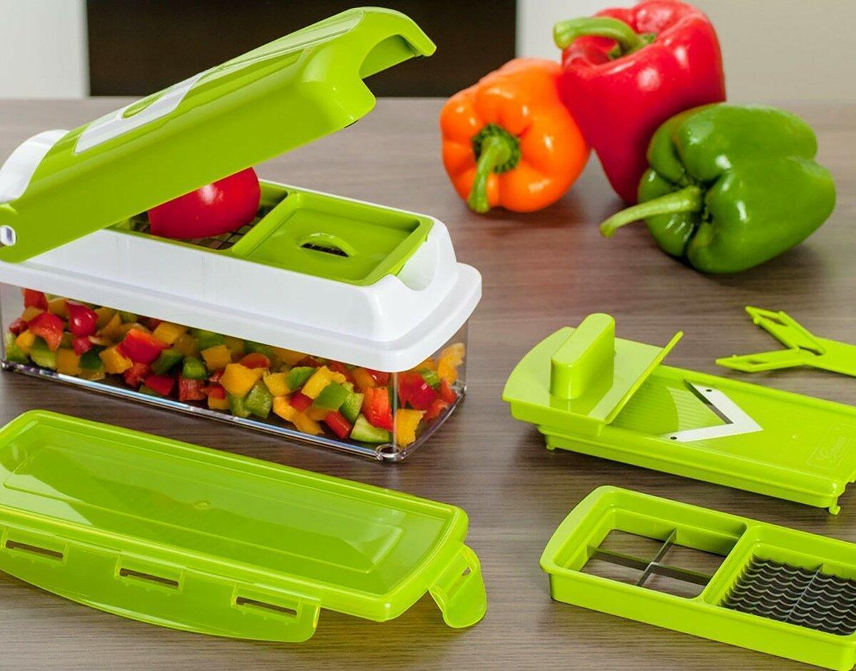 Прибор для нарезки овощей Nicer Dicer Plus