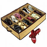 Органайзер для хранения обуви на 12 пар Shoes Under, фото 3