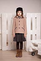Демисезонное полупальто для девочки, размер 30, 32, 34, 36. (арт.К-107)