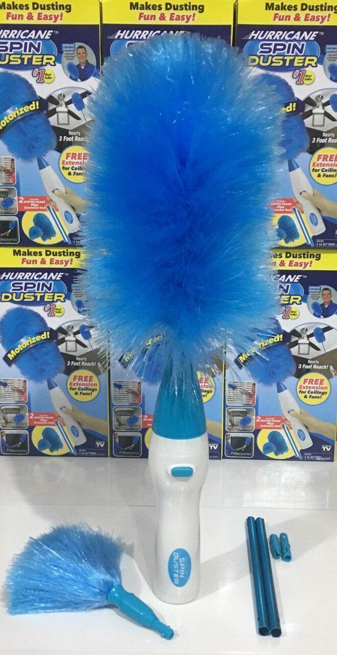 Электрическая щетка для уборки пыли Hurricane Spin Duster