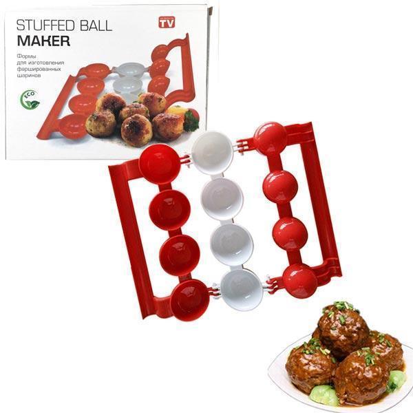 Форма для изготовления мясных фаршированных шариков Stuffed Ball Maker