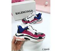 Женская спортивная обувь, кроссовки женские  с яркими вставками 37