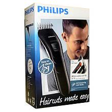 Машинки для стрижки волос Philips QC5115/15 (Лезвия из нержавеющей стали, 11 установок длины, Питание от сети)