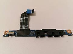 Б/У Плата LED + Кнопка WI FI для ноутбука LENOVO G570 G575  LS-6754P