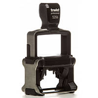 Оснастка для штампа металлическая прямоугольная Trodat Professional 5206 56х33 мм чёрная