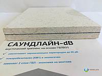 Звукоизоляционная каркасная облицовка с применением панели Саундлайн dB и Шуманет-коннект-КС (90 мм).