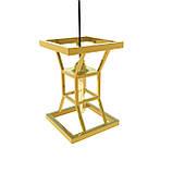 Подвесной светильник «Hourglass» Gold из нержавеющей стали под золото, фото 2
