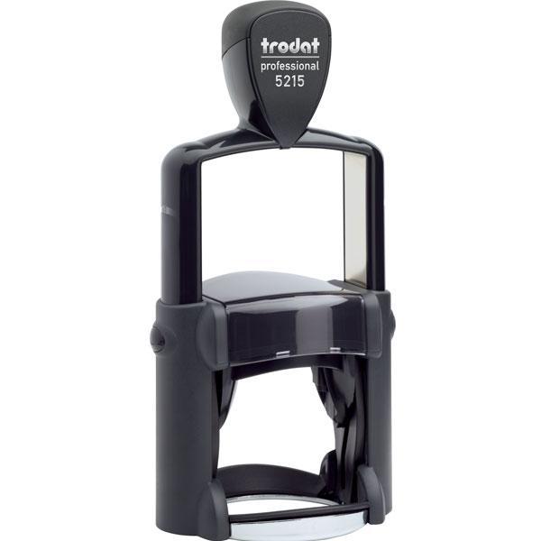 Оснастка для штампа металлическая круглая Trodat Professional 5215 Ø 45 мм чёрная