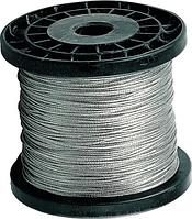 Канат из нержавеющей стали Ф 1,0 мм сечение 7х7 DIN 3055