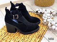 ХИТ ПРОДАЖ!! Ботинки женские. Натуральный замш. Весна-2020. Арт.1616, фото 1