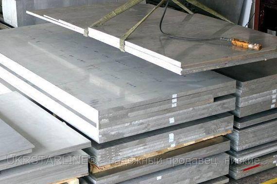 Плита алюминиевые 12*1020*2020