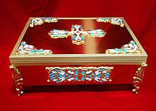 Булатный ковчег на 16-20 частиц, размер 26 на 36см