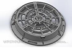 Дождеприемник ДКС (круглый тип С )
