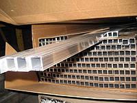Прямоугольная алюминиевая труба марка АД31т (6063)