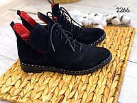 ХИТ ПРОДАЖ!! Ботинки женские.Натуральная кожа. Арт.2266. Р.37,38,39, фото 1