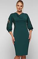 Платье большого размера VP123 зел
