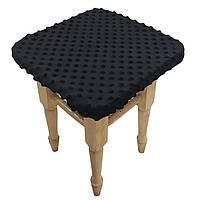 Чехол на табурет Солодкий Сон 33х33 см. Чорний, фото 1