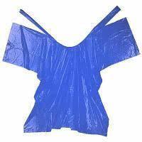 Пеньюар Panni Mlada 0,9х1,6 м (50 шт/пач) из полиэтилена цвет: синий
