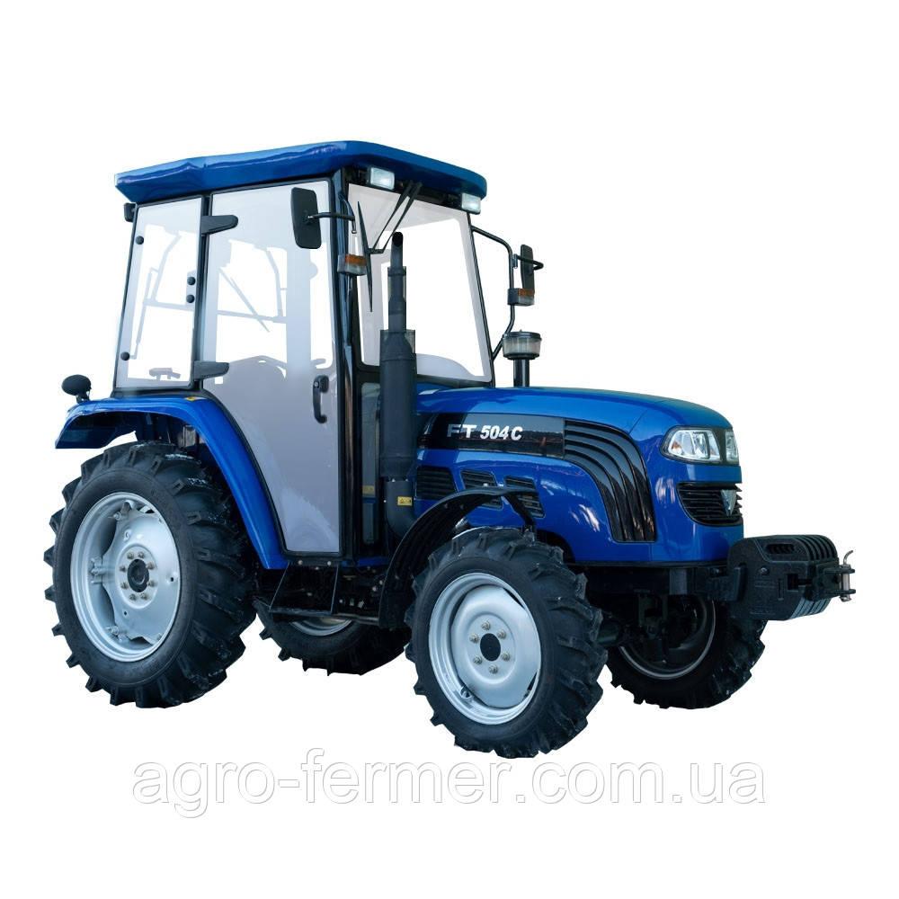 Трактор Foton Lovol FT504C (50 к. с., 4 цил., 4х4, КПП(8х8), колеса 8,3-20/12,4-28)