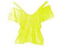 Пеньюар Panni Mlada 0,9х1,6 м (10 шт/пач)  из полиетилена цвет: желтый