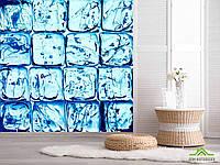 3д фотообои Ледяные кубики