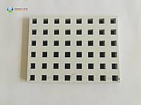 Перфорований гіпсокартон Knauf квадратна перфорація 2000х1200х12,5 мм, фото 1