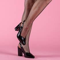 Туфли женские на высоком каблуке с открытой пяткой  размеры 36-40, фото 2