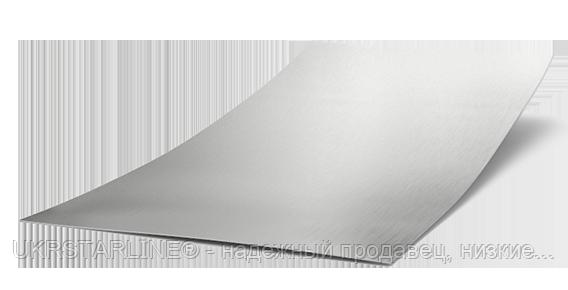 Листовая сталь оцинкованная, 1250х2500х3,0 мм